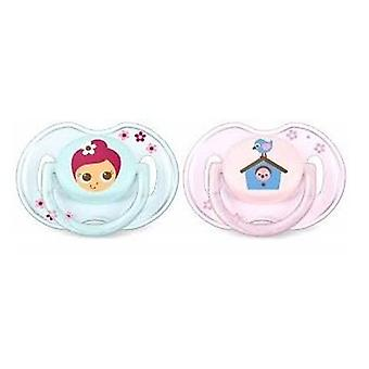 Avent Silicone pacifiers Classics 0 to 6 months 2uds