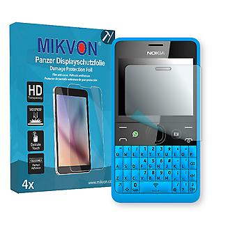 Nokia Asha 210 Dual SIM Screen Protector - Mikvon Armor Screen Protector (Retail Package with accessories)