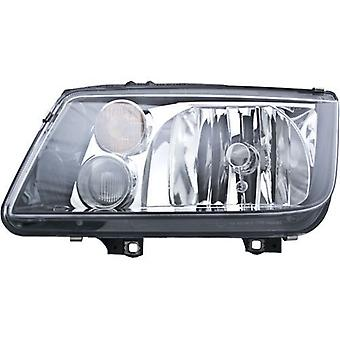 HELLA 963660491 Volkswagen Jetta MkIV Driver Side Replacement Headlight Assembly