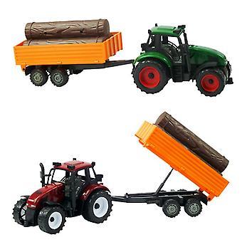 Tractor frictie met stammen 40cm