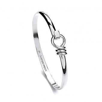 Cavendish francuski drobnego srebrnego klip bransoletka