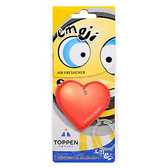 Doftgran To The Car Air Freshener Emoticon Magical Heart