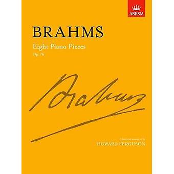 Eight Piano Pieces - Op. 76 by Johannes Brahms - Howard Ferguson - 97
