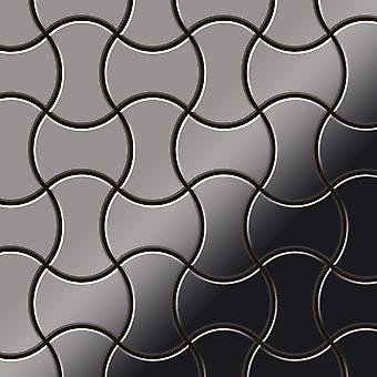 Metal mosaic Titanium ALLOY Infinit-Ti-SM