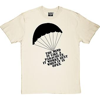 The Mind Is Like A Parachute Men's T-Shirt