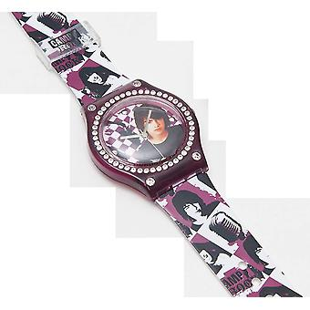 Disney Camp Rock Cool Fashion Diamante Boys Strap Watch 24538