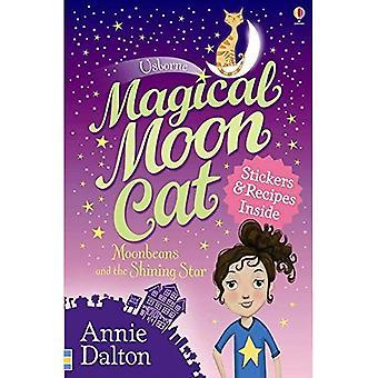 Gato da lua mágica: Moonbeans e a estrela brilhando