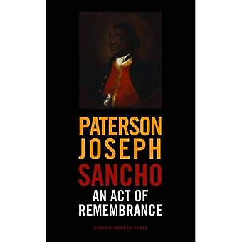 Sancho: An Act of Remembrance (Oberon Modern Plays)