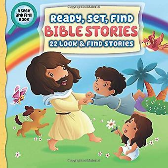 Ready, Set, hitta Bibelns berättelser: 22 utseende och hitta berättelser (Ready, Set, hitta) [styrelse bok]