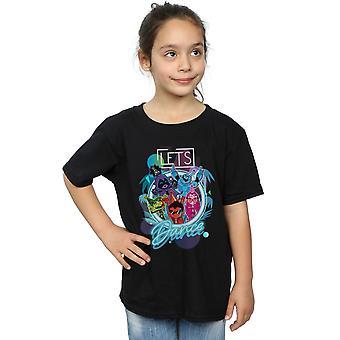 DC Comics Girls Teen Titans Go Let's Dance T-Shirt