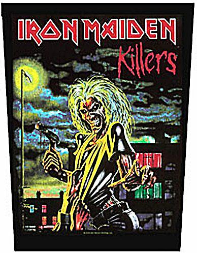 Iron Maiden Killers large sew-on back patch  (mm)