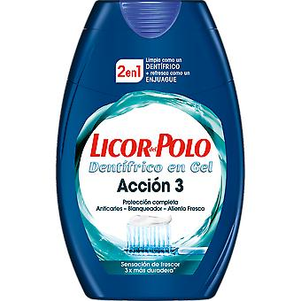 Licor Del Polo 2en1 Acción 3 75 ml (Hygiene and health , Dental hygiene , Toothpaste)