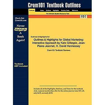 StudyGuide för Global marknadsföring interaktiv metod av Gillespie Kate ISBN 9780618659531 av Cram101 lärobok recensioner