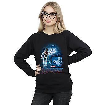 Marvel Women's Avengers Endgame Hawkeye Team Suit Sweatshirt