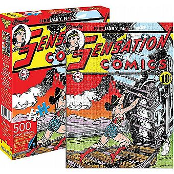 Wonder Woman Sensation Comics 500 piece jigsaw puzzle   (nm 62106)