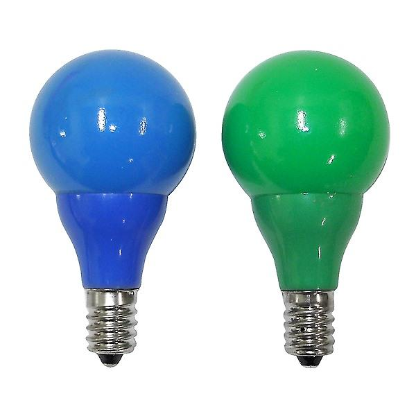 Konstsmide 5684-420 Green-Blue Spare Bulb x 2