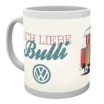 VW Camper Ich Liebe Bulli Boxed drinken mok