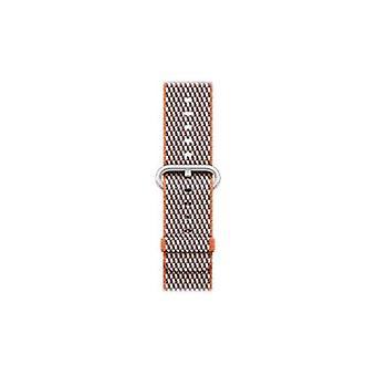 Apple 38mm check spicy orange strap