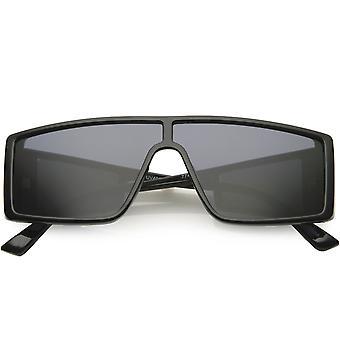 Modern Active Sport Square Framed Side Window Lens Rectangle Sunglasses 55mm
