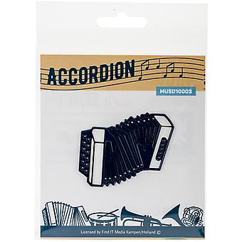Find It Trading Music Series Die-Accordion MUS10003