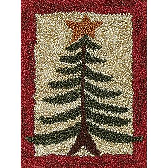 Pine Tree Punch Needle Kit 2 7 8