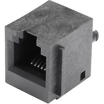 N/A Socket, vertical vertical SS65600-004F Black