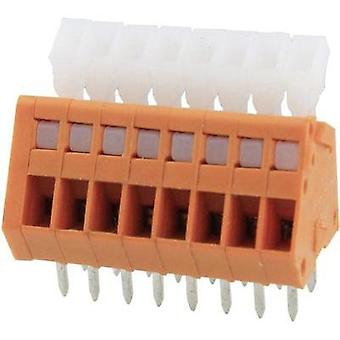 Spring-loaded terminal 0.51 mm² Number of pins 10 DG240-2.54-10P-15-00AH Degson Orange 1 pc(s)