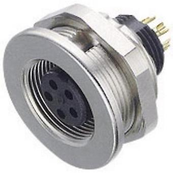 Binder 09-0412-00-04 09-0412-00-04 Sub Miniature Round Plug Connector Series Nominal current (details): 3 A Number of pi