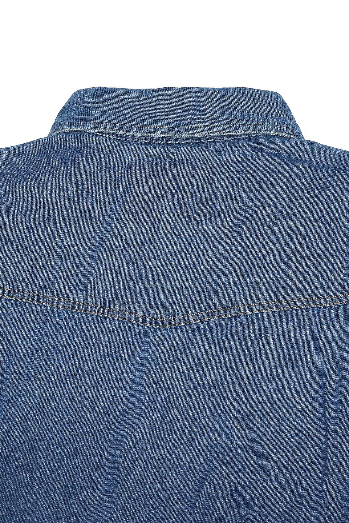 DUKE Stonewash Denim Shirt