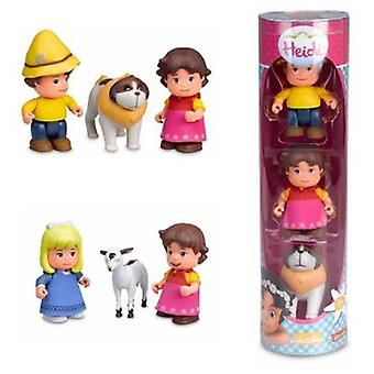 Famosa Heidi. Tube With 2 Figures (Toys , Preschool , Playsets , Dolls)