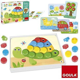 Goula Baby Color 20 Pieces (Toys , Educative And Creative , Tales)