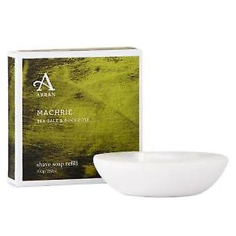 Arran Machrie Sea Salt and Rockrose Shaving Soap Refill 100g