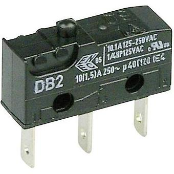 Microswitch 250 Vac 10 A 1 x On/(On) Cherry Switches DB2C-B1AA momentary 1 pc(s)
