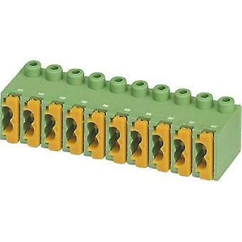 Spring-loaded terminal Number of pins 10 FK-MPT 0,5/10-ST-3,5 Phoenix Contact Green 1 pc(s)