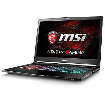 MSI Portable Gaming 2.6Ghz Gs73Vr 6RF I7-6700Hq 17.3 Inches Black