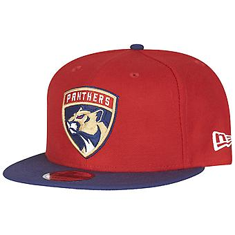 Nuova era 9Fifty cappelli - NHL Florida Panthers rosso