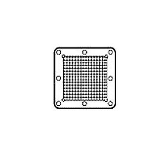 Exhaust outlet protection grille for centrifugal C - fan range
