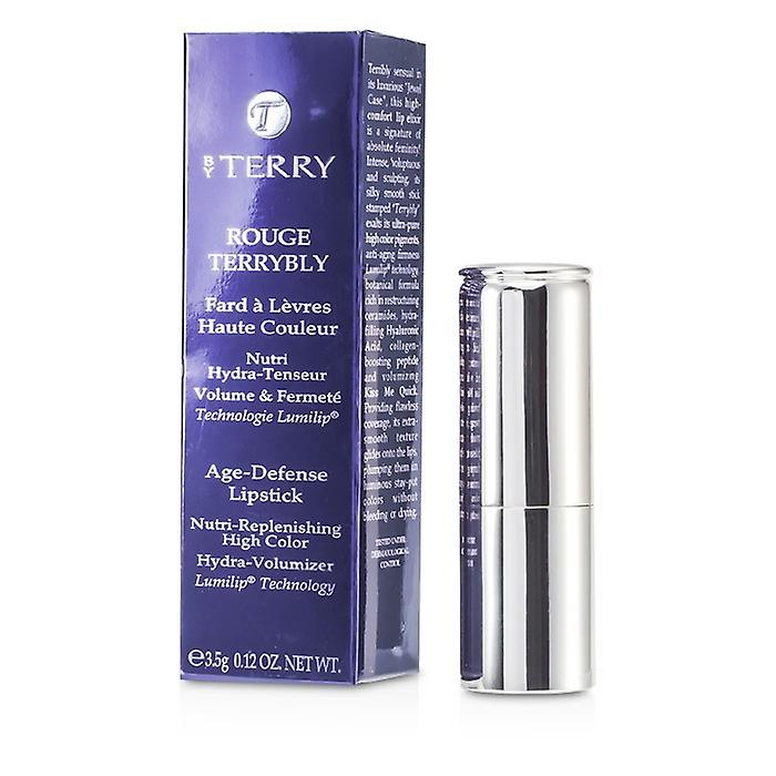 By Terry Rouge Terrybly Age Defense Lipstick - # 302 Hot Cranberry 3.5g/0.12oz