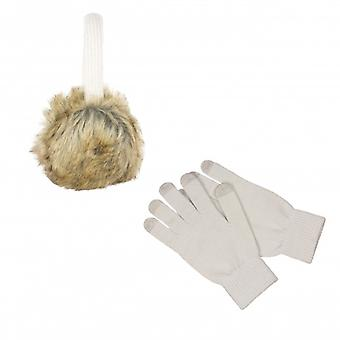 KITSOUND HörlursMuff Kit incl glove White
