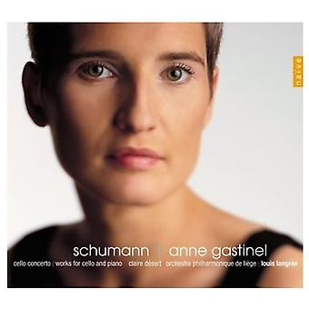 R. Schumann - Anne Gastinel Performs Schumann [SACD] USA import