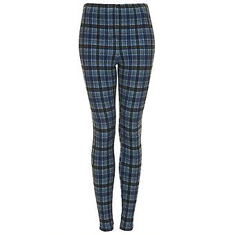 Topshop Denim Multi Check legging TRS245-6