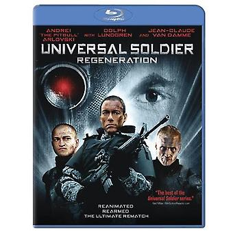 Universal Soldier Regeneration [BLU-RAY] USA import