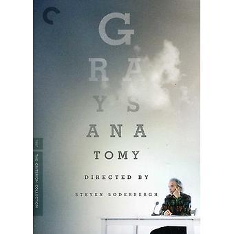 Importer des USA de Gray anatomie [DVD]