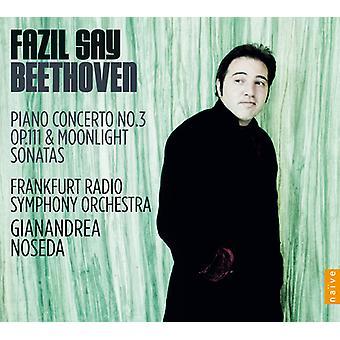 Beethoven/Frankfurt Radio Sym Orch/Noseda - Piano Concerto No.3/Piano Sonatas Op.111 & [CD] USA import