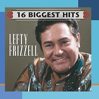 Lefty Frizzell - 16 största Hits [CD] USA import