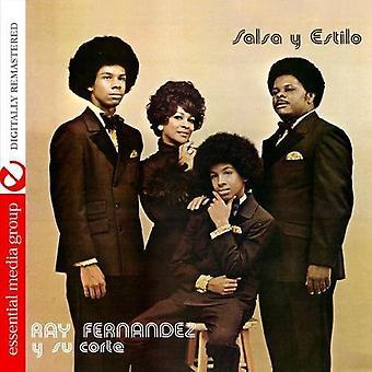 Ray & hans domstol - Salsa Y Estilo [CD] USA import