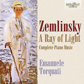 Zemlinsky / Torquati - importar de USA rayo de luz-Comp Pno música [CD]