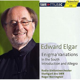 E. Elgar - Elgar: Enigma Variations; in the South; Introduction and Allegro [CD] USA import
