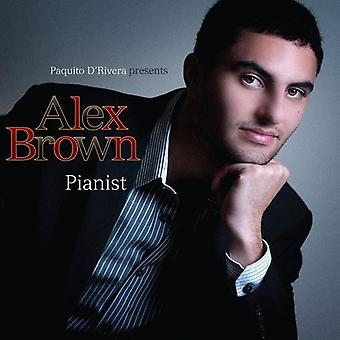 Alex Brown - Pianist [CD] USA import