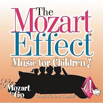 Mozart effekt-musik for børn - Mozart effekten-musik for børn: Vol. 4-Mozart til Go [CD] USA import